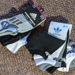 🆕 9 Pairs of Adidas Ankle Socks